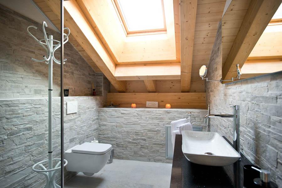 Chalet Talisman   Badezimmer Im Dachgeschoss.